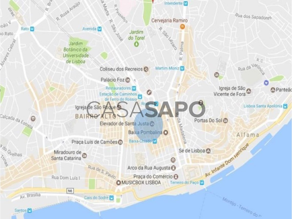 Building For Sale 19 500 000 In Lisboa Santa Maria Maior Casa