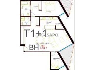 Ver Apartamento T1+1 com garagem em Olhão