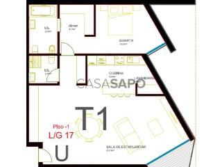 Ver Apartamento 1 habitación con garaje en Olhão