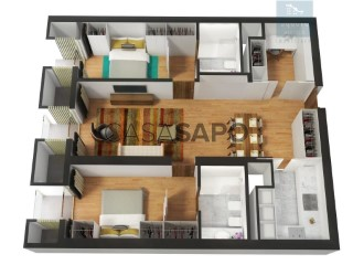 Ver Apartamento T2+1 com garagem, Ingombota-Ingombota em Luanda