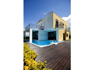 Voir Maison Isolée 4 Pièces Avec garage, Palmela Village, Quinta do Anjo, Setúbal, Quinta do Anjo à Palmela