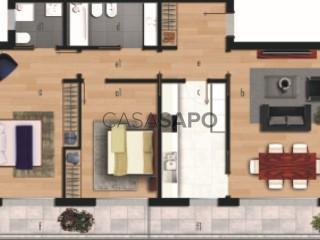 Voir Appartement 3 Pièces Avec garage, Tovim de Cima, Santo António dos Olivais, Coimbra, Santo António dos Olivais à Coimbra