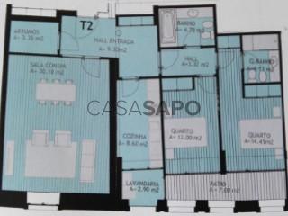 Ver Apartamento T2, Ponte Movél (Leça da Palmeira), Matosinhos e Leça da Palmeira, Porto, Matosinhos e Leça da Palmeira em Matosinhos
