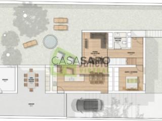 Ver Moradia Geminada T4 Com garagem, Azeitão (São Lourenço e São Simão), Setúbal, Azeitão (São Lourenço e São Simão) em Setúbal
