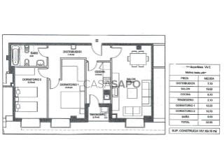 Veure Pis 2 habitacions en Miguelturra