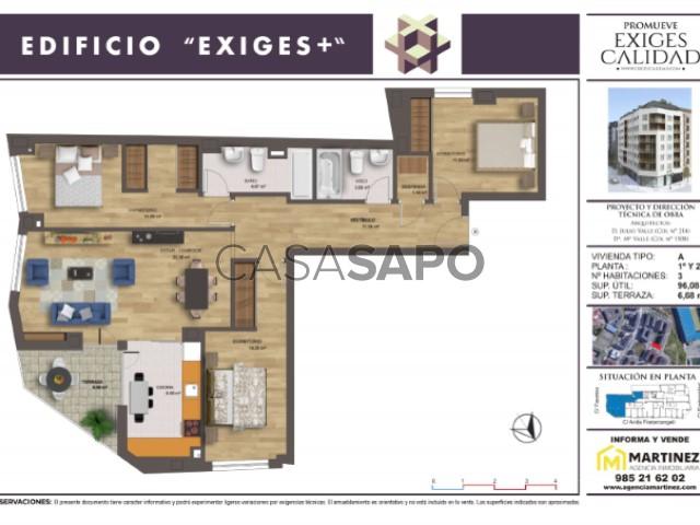 Flat 3 Bedrooms La Ería Oviedo Oviedo